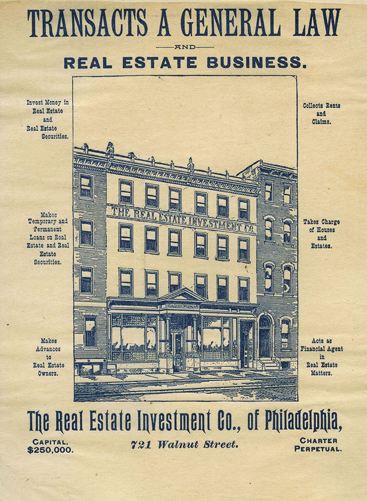 The Real Estate Investment Co., of Philadelphia
