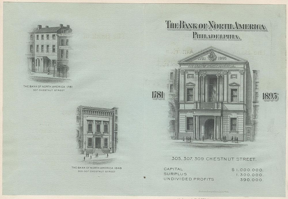 Bank of North America, Pennsylvania