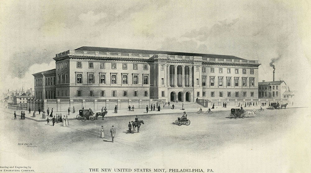 The New United States Mint, Philadelphia, PA.