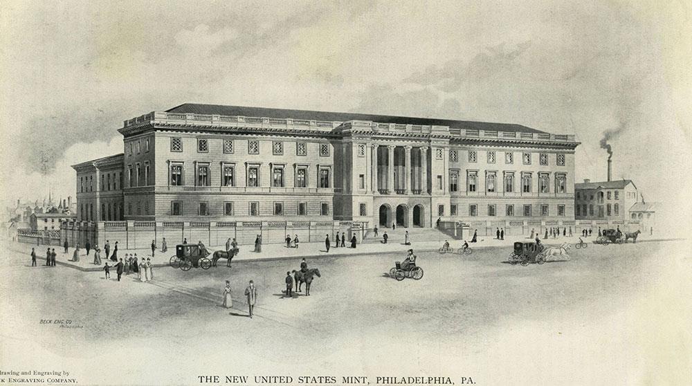 The New United States Mint, Philadelphia, PA.