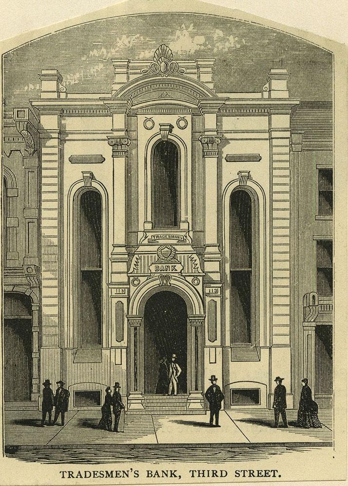 Trademen's Bank, Third Street.