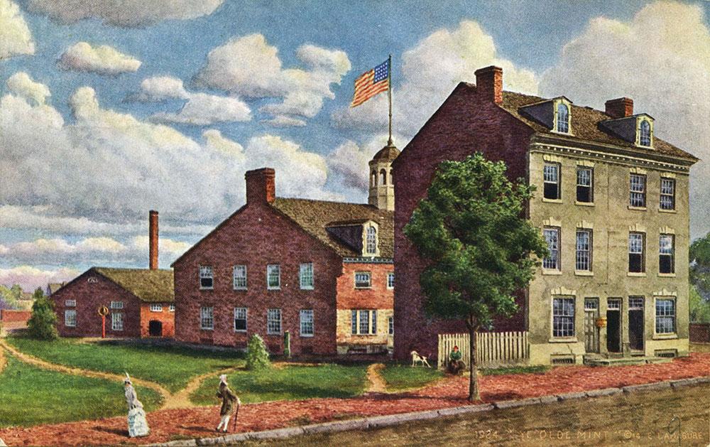 U. S. Mint. First Building.