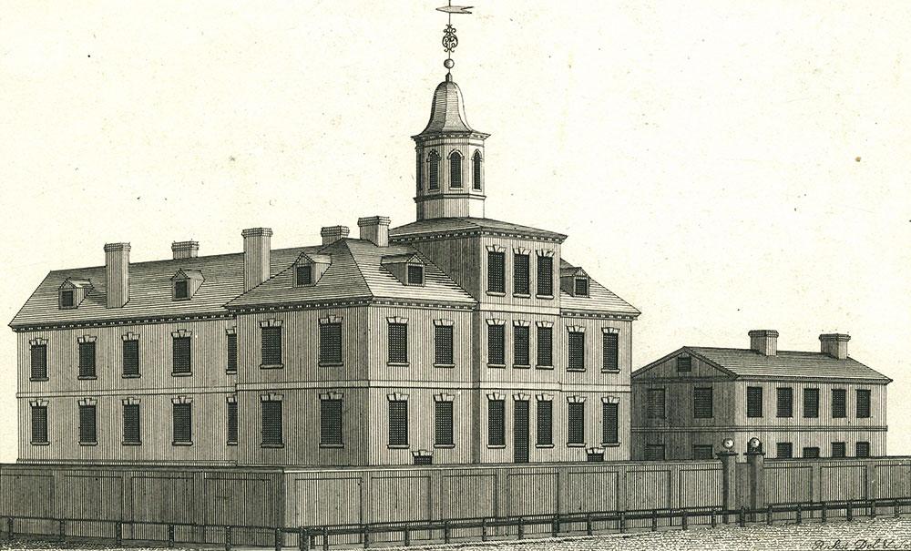 Pennsylvania Hospital.