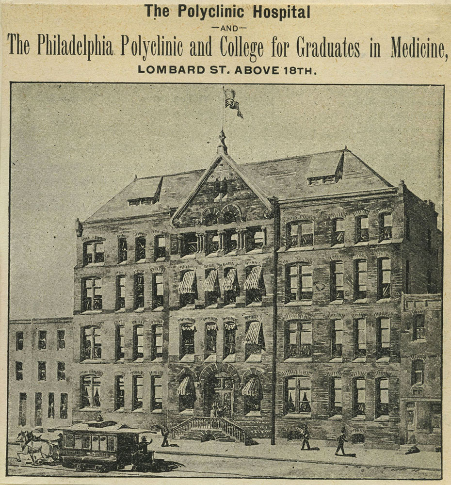 The Philadelphia Polyclinic and College for Graduates in Medicine.