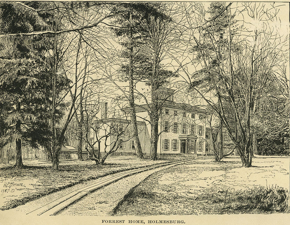 Edwin Forrest Home, Holmesburg.