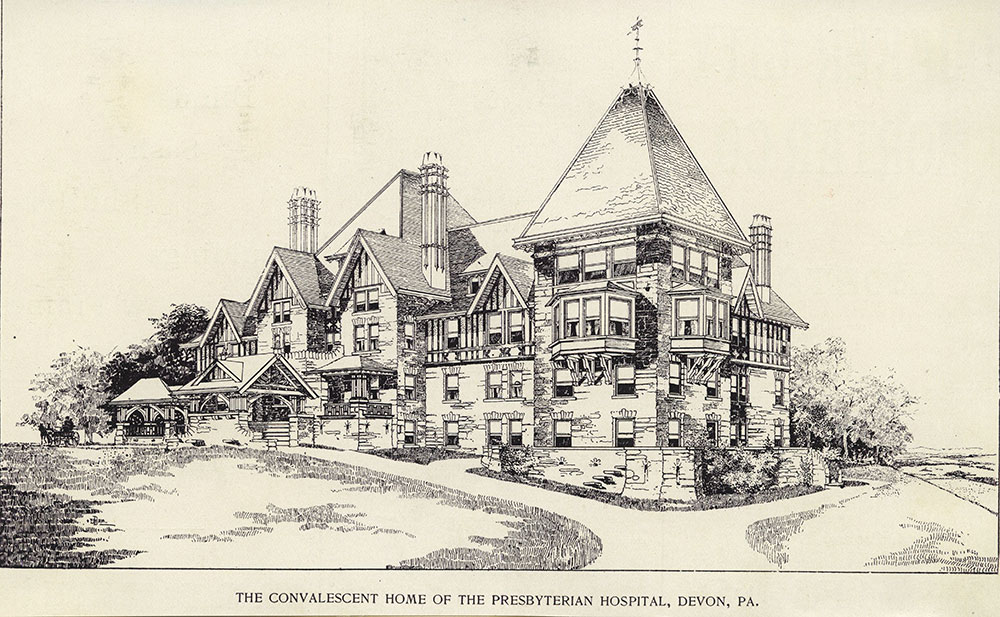 The Convalescent Home of the Presbyterian Hospital, Devon, Pa.