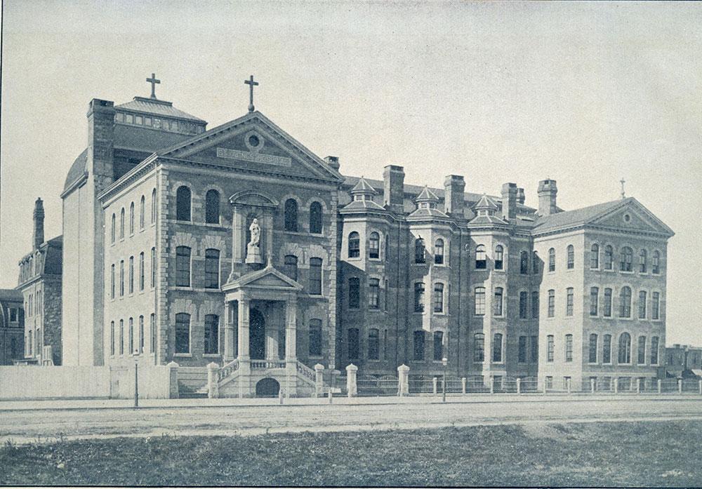 St. Agnes' Hospital.