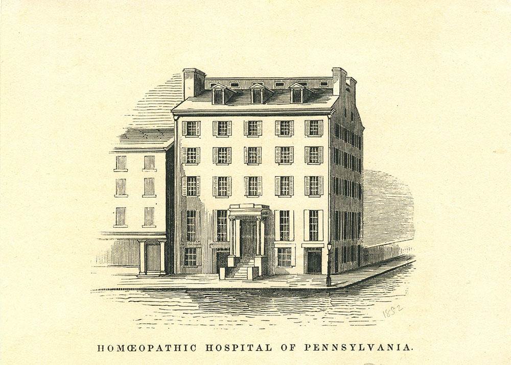 Homeopathic Hospital of Pennsylvania.