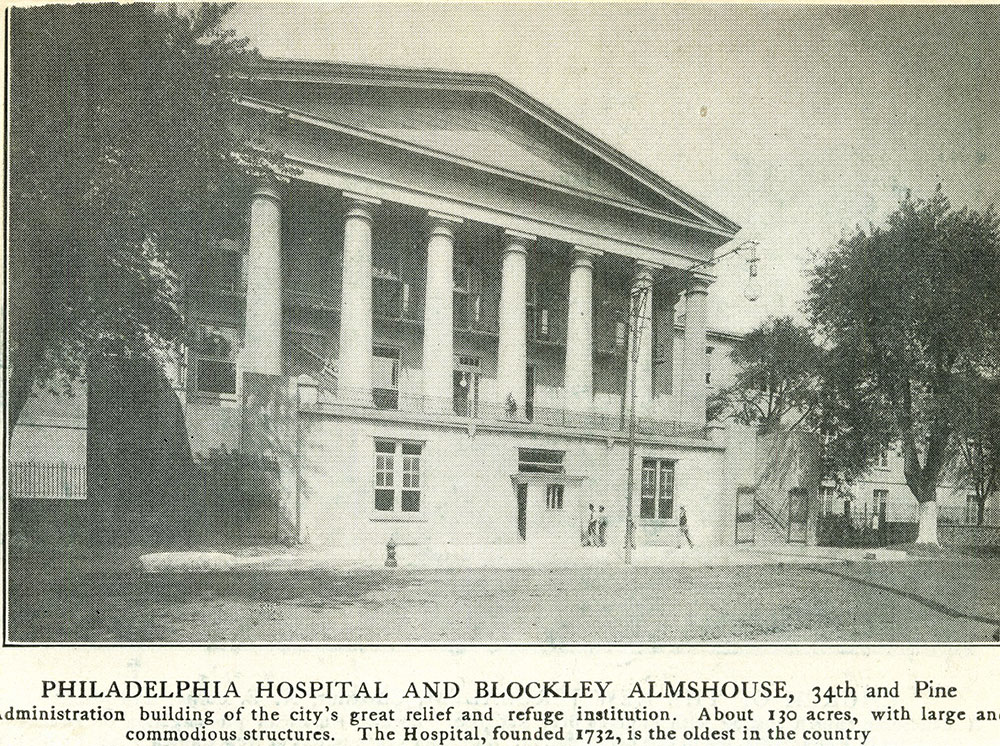 Philadelphia Hospital and Blockley Almshouse