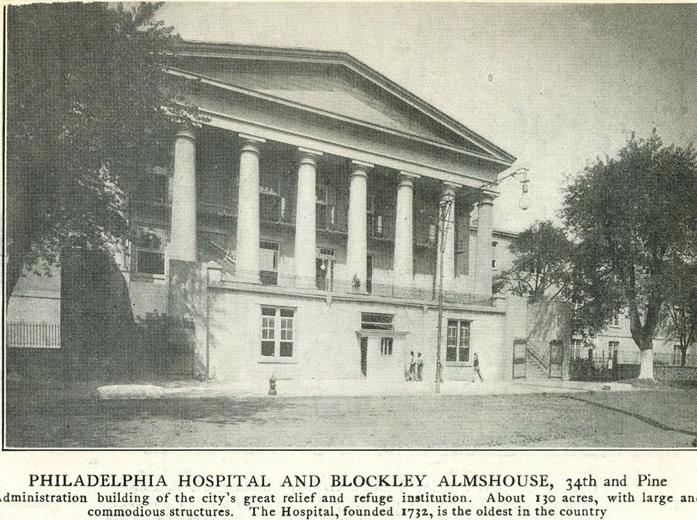Philadelphia Hospital and Blockley Almshouse