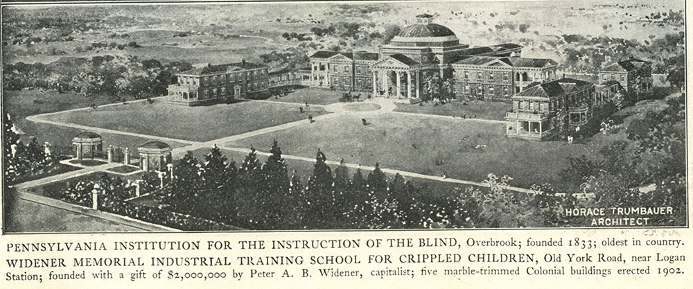 Widener Memorial Industrial Training School for Crippled Children