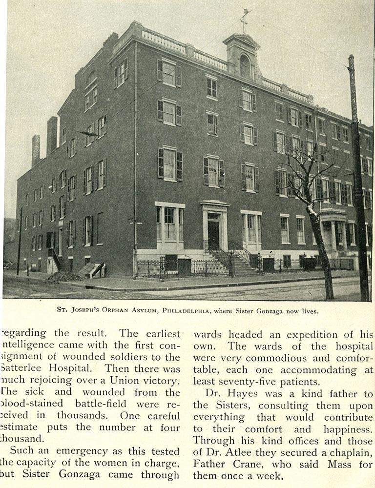 St Joseph's Orphan Asylum