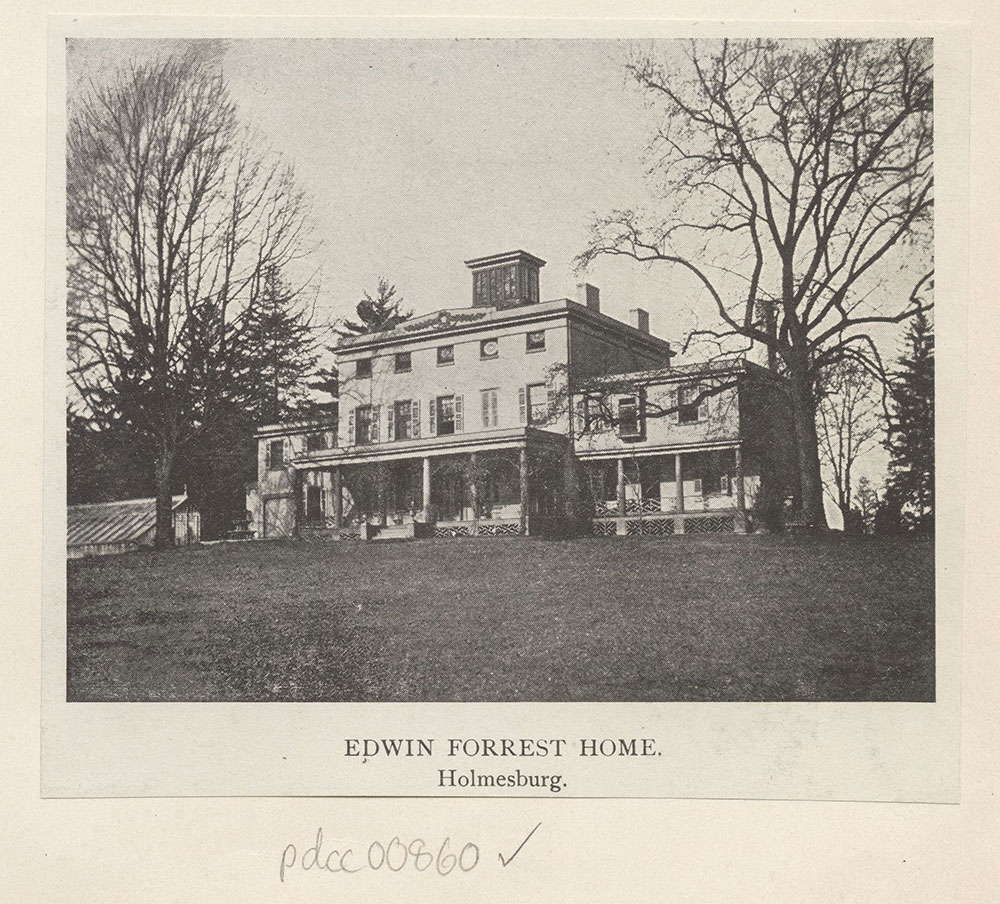 Edwin Forrest Home