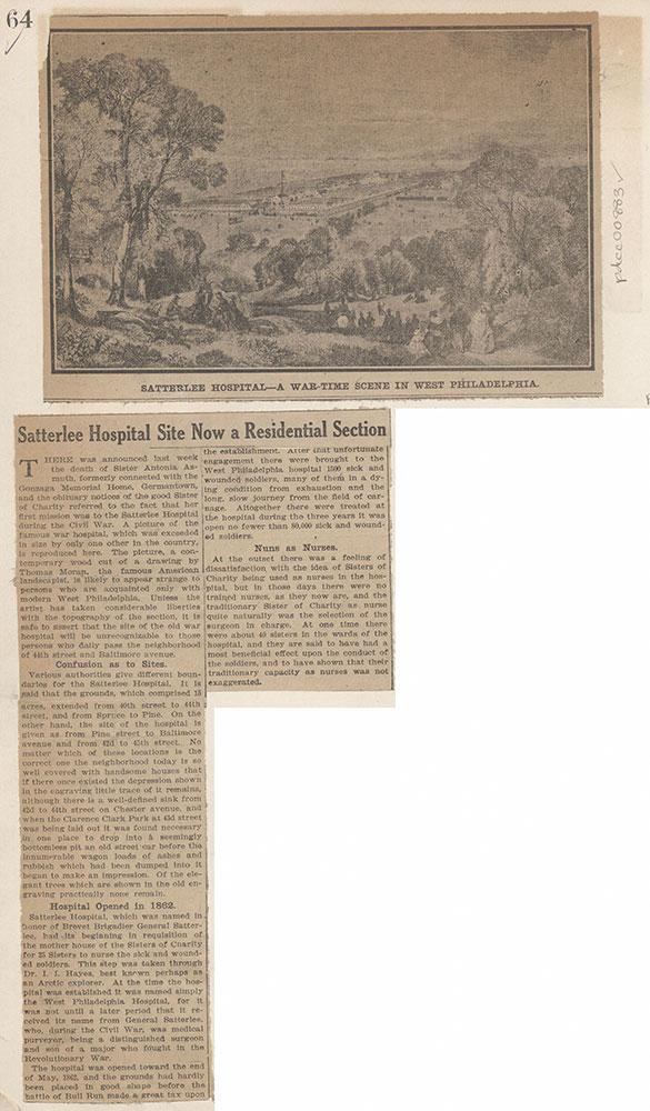 Satterlee Hospital - A War-Time Scene in West Philadelphia