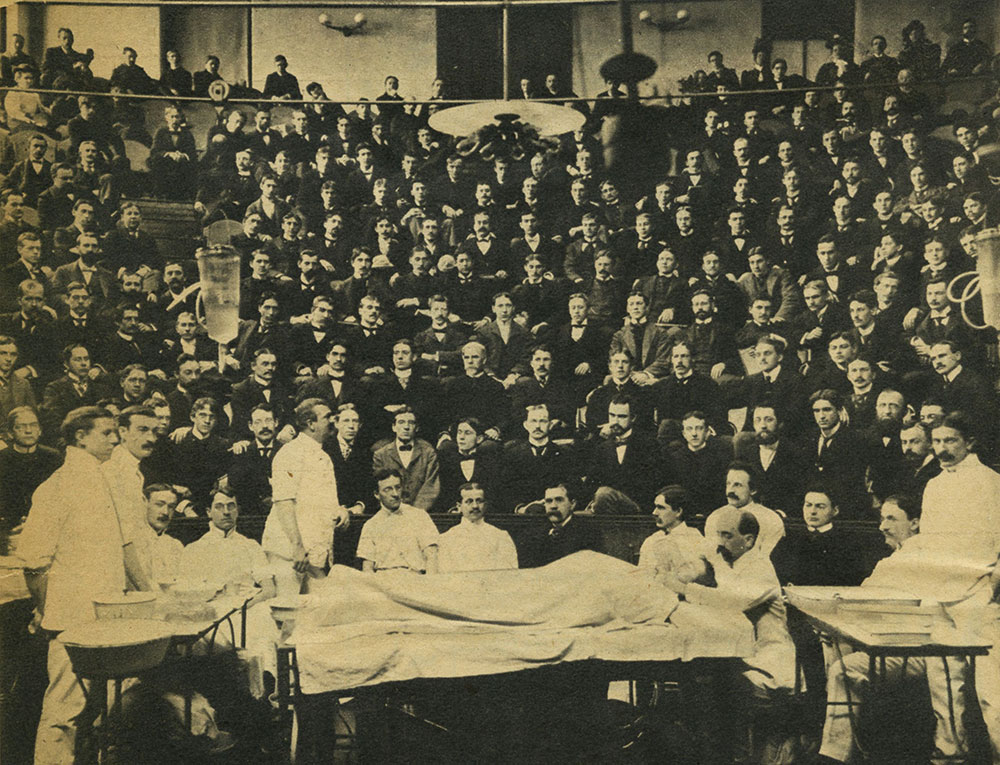 Hahnemann Hospital, Surgical Amphitheater