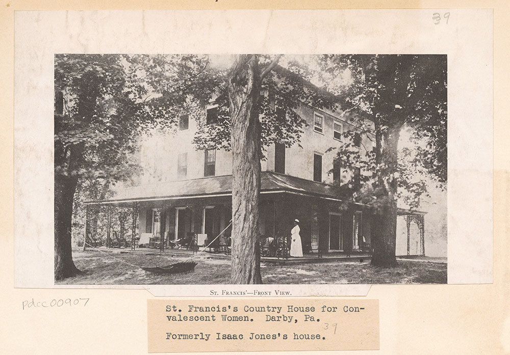 St. Francis' Country House for Convalescent Women - Front View