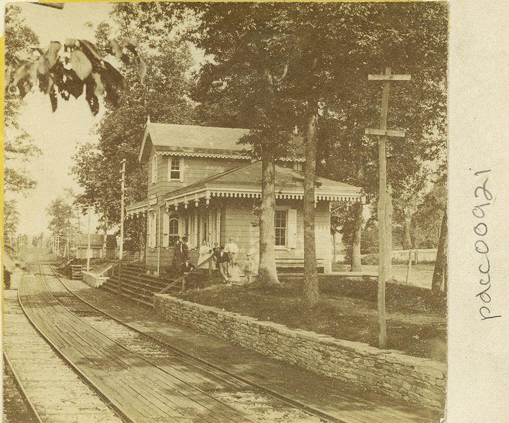 Whitehall Railroad Station