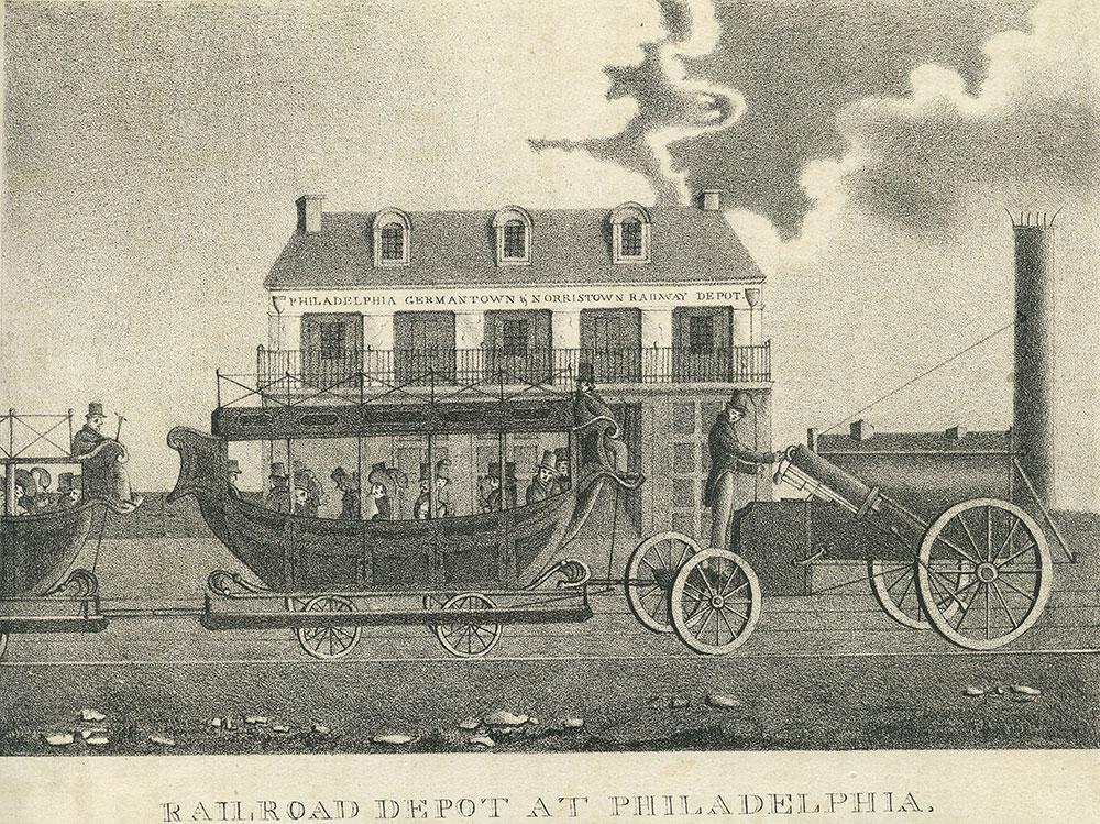 Philadelphia Germantown & Norristown Railway Depot