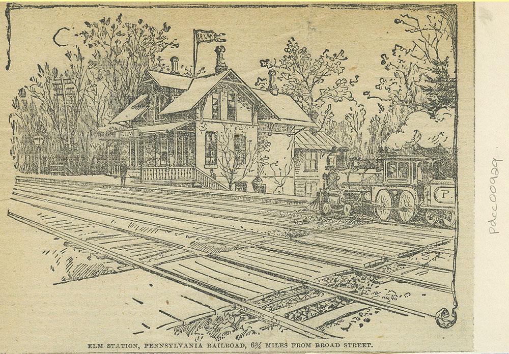 Elm Station, P.R.R.