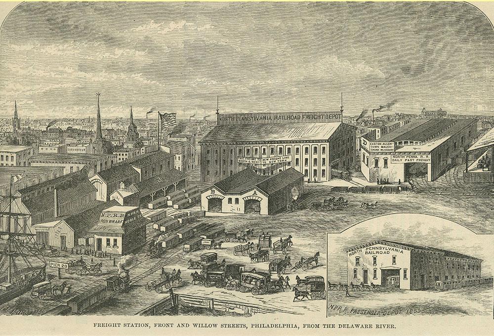 North Pennsylvania R.R. Freight Depot