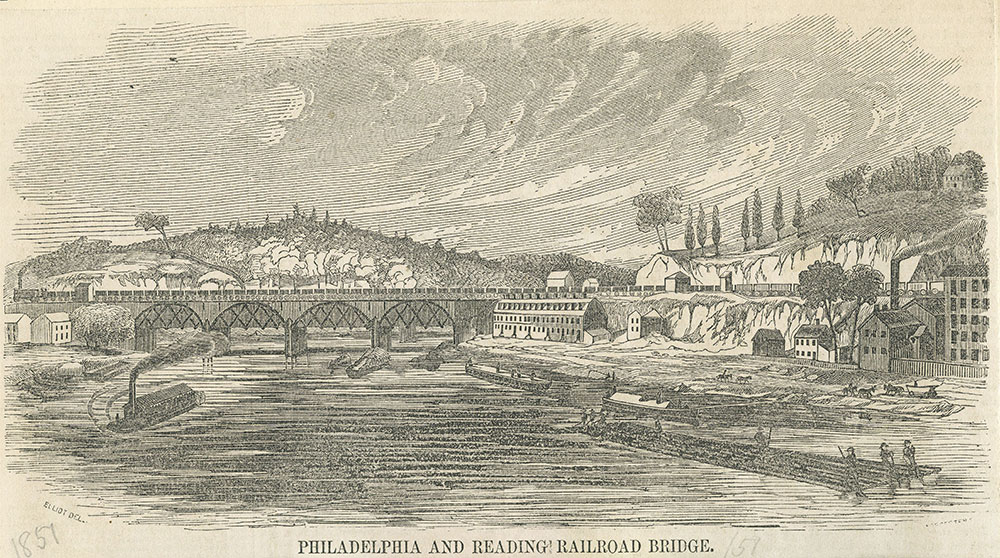 Philadelphia and Reading Railroad Bridge