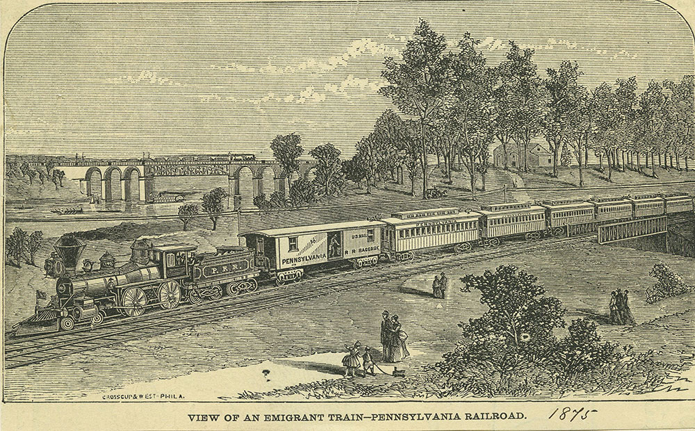 Emigrant Train - Pennsylvania Railroad