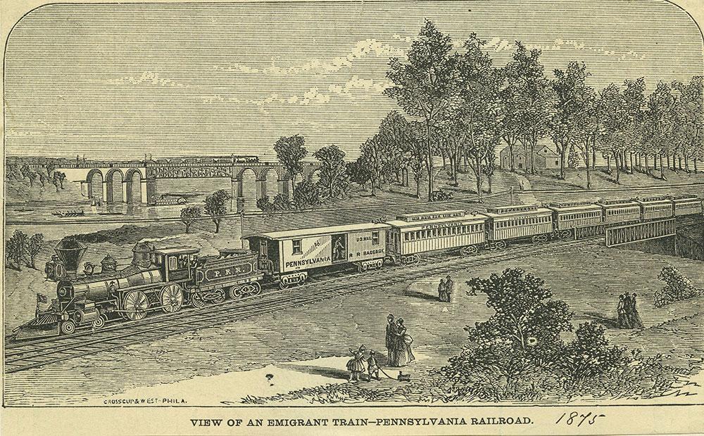 Emigrant Train - Pennsylvania Railroad