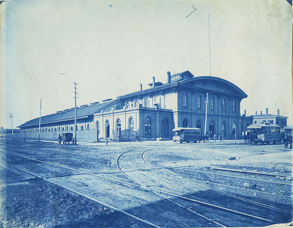Southern & Western Railroad Station