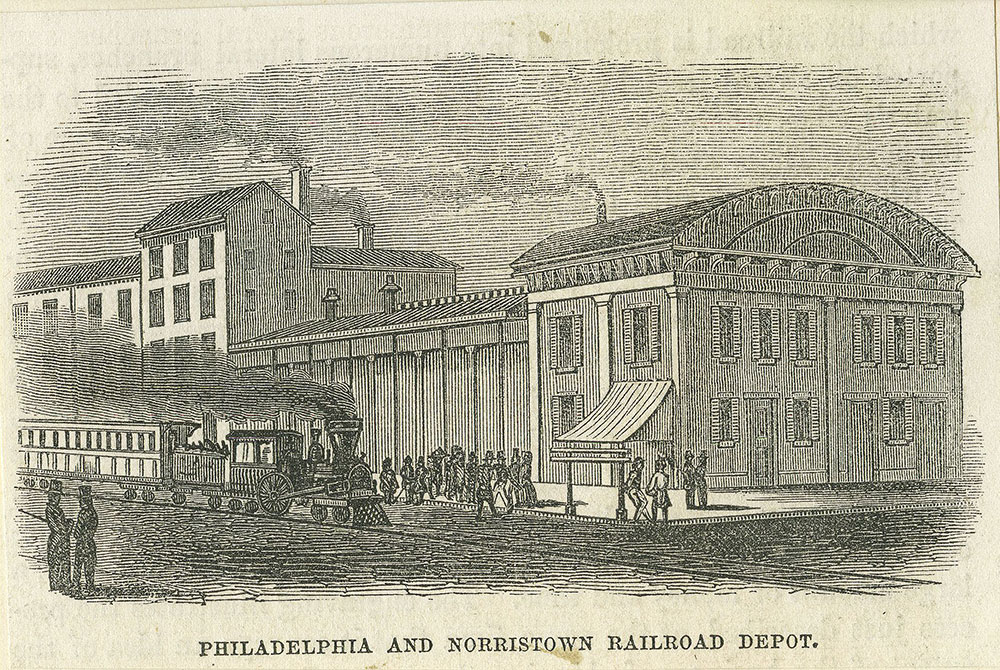 Philadelphia and Norristown Railroad Depot