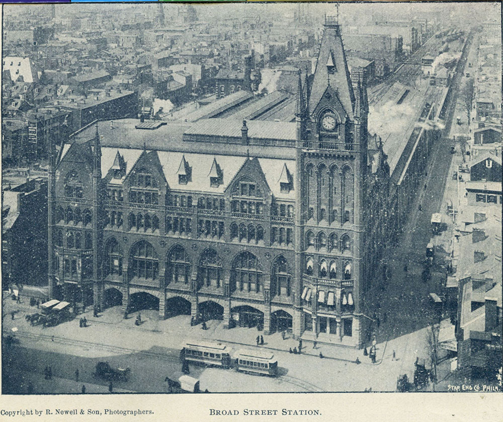Broad Street Station.