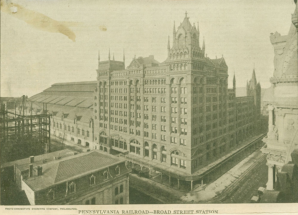 Pennsylvania Railroad - Broad Street Station