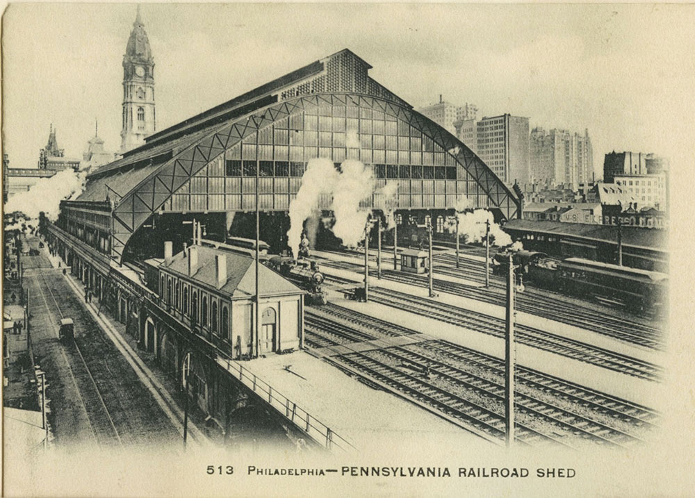 Broad Street Station Train Shed