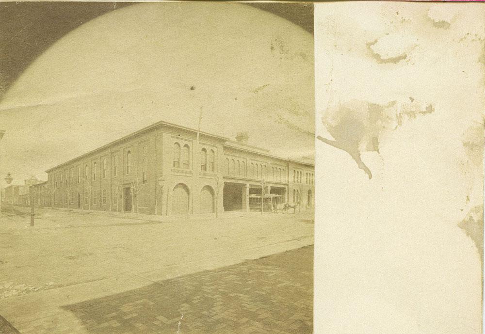 West Philadelphia Passenger Railway Depot.