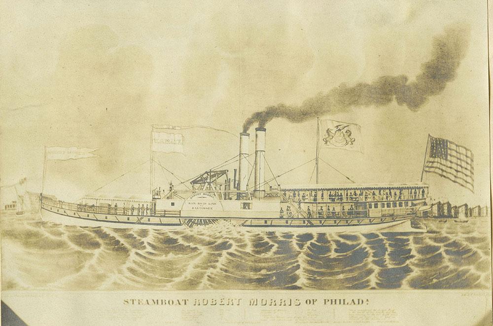 Steamboat Robert Morris of Philadelphia