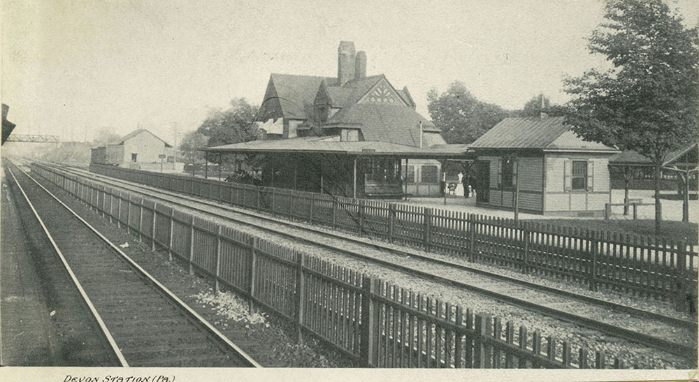Devon Railroad Station