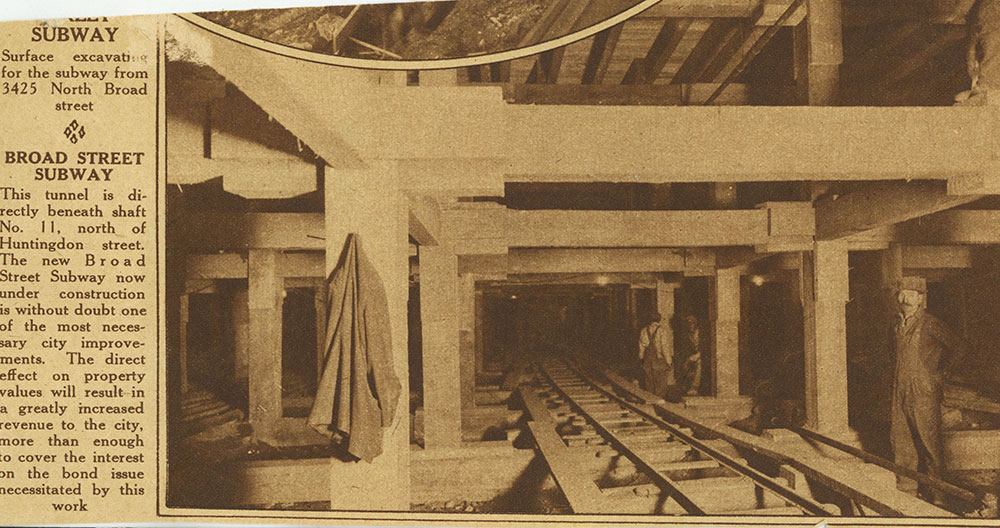 Broad Street Subway
