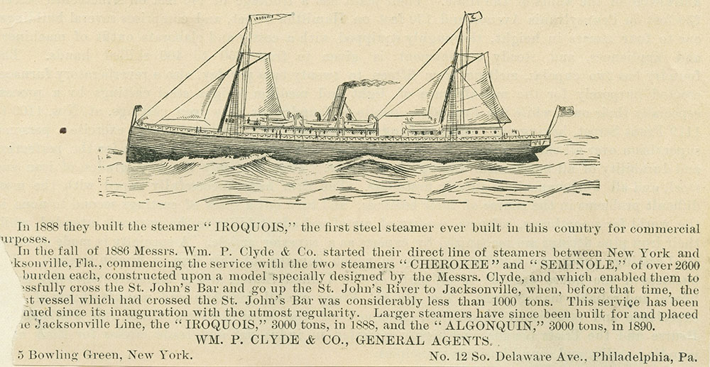 Steamship Iroquois