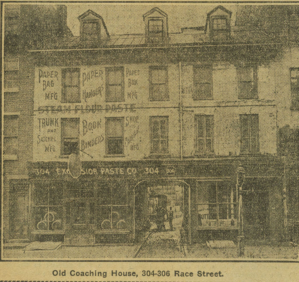 Old Coaching House, 304-306 Race Street