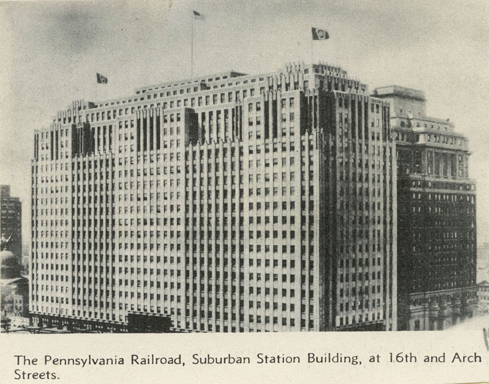 Pennsylvania Railroad Suburban Station Building.
