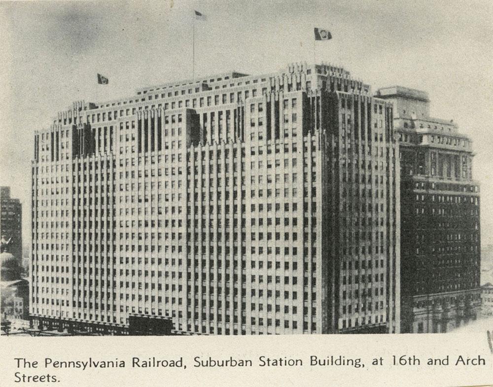 Pennsylvania Railroad Suburban Station Building. - Digital ...