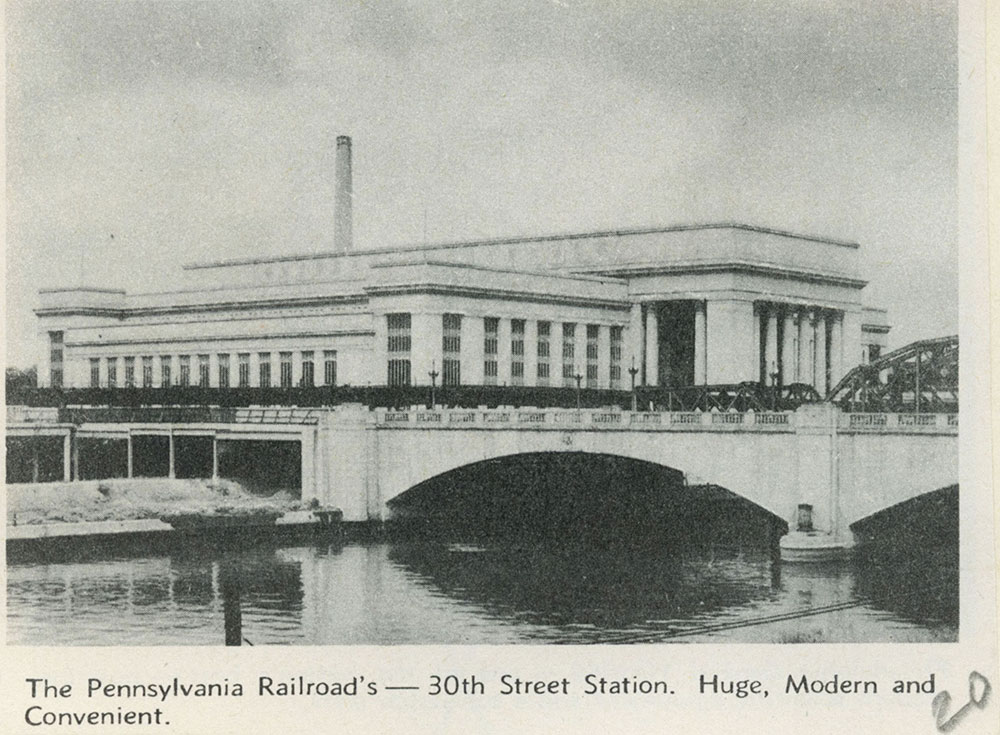 Pennsylvania Railroad's 30th Street Station