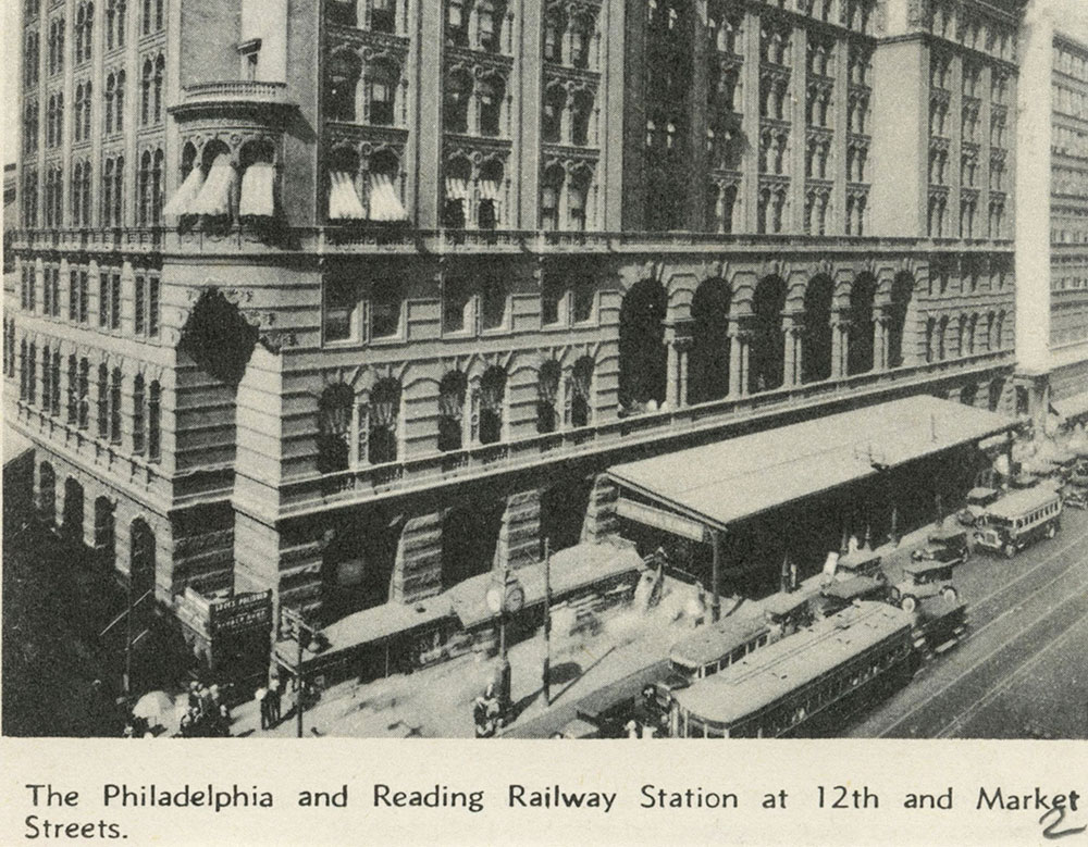 The Philadelphia and Reading Railroad Station