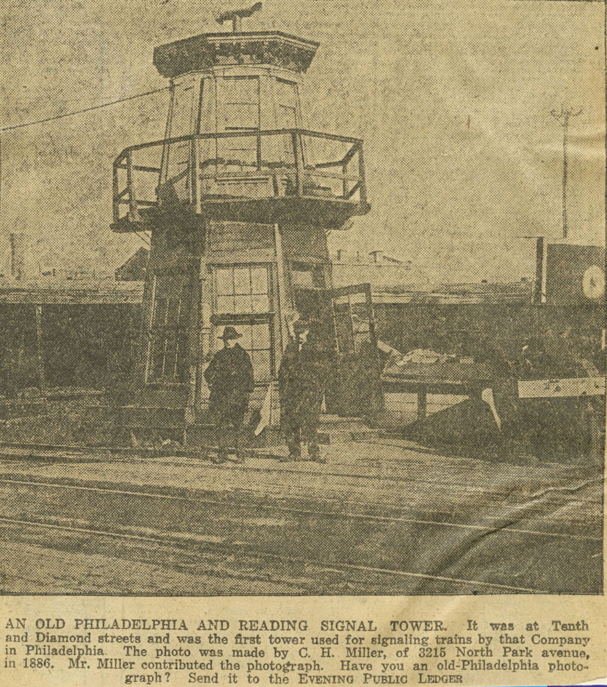 Philadelphia and Reading Signal Tower