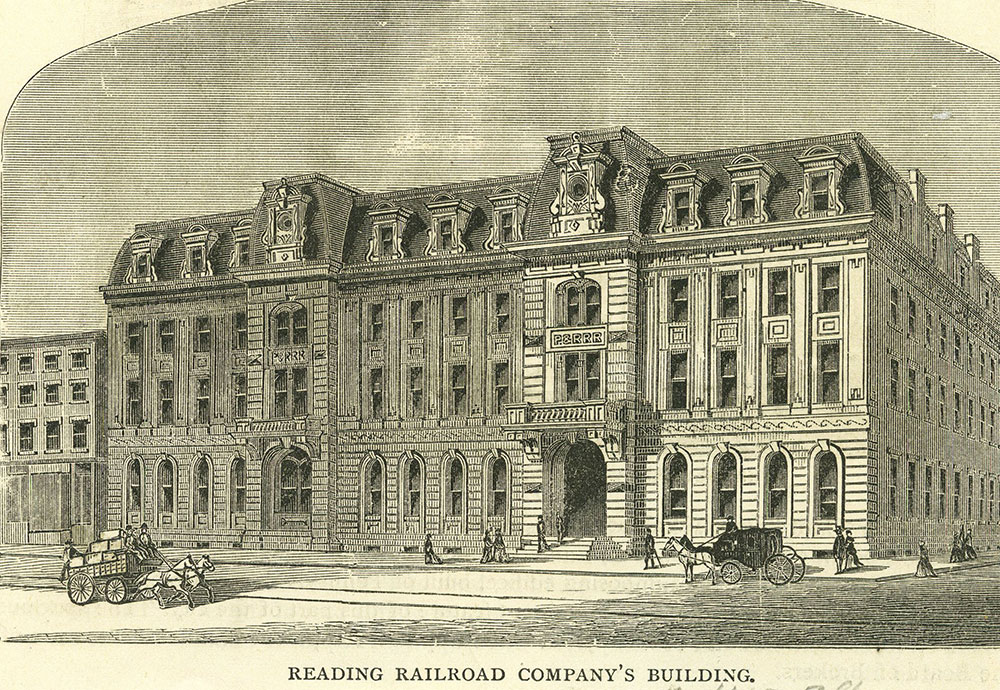 Reading Railroad Company's Building.