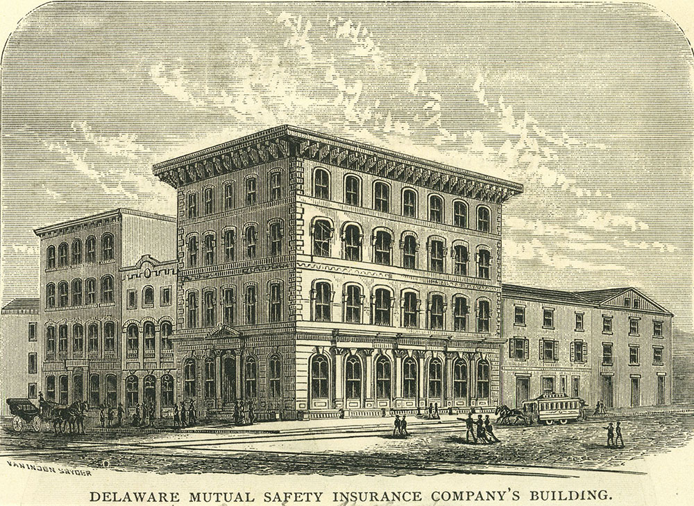 Delaware Mutual Safety Insurance Company's Building.