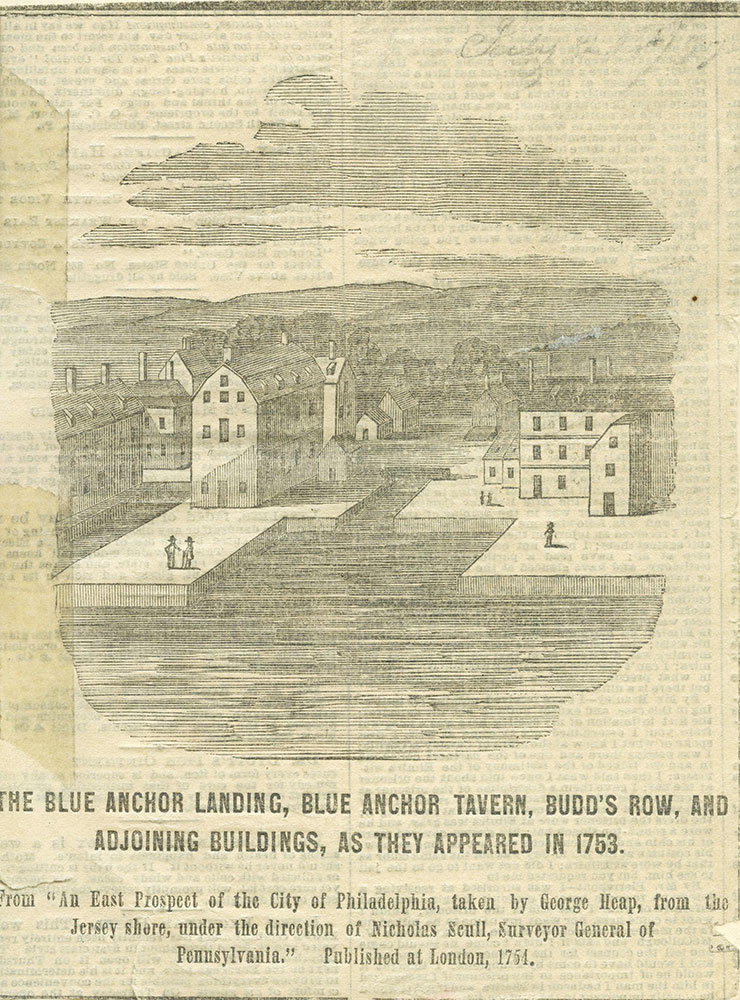 The Blue Anchor Landing and Blue Anchor Tavern.