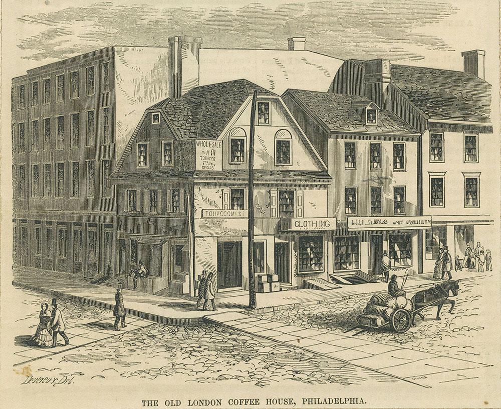 The Old London Coffee House, Philadelphia