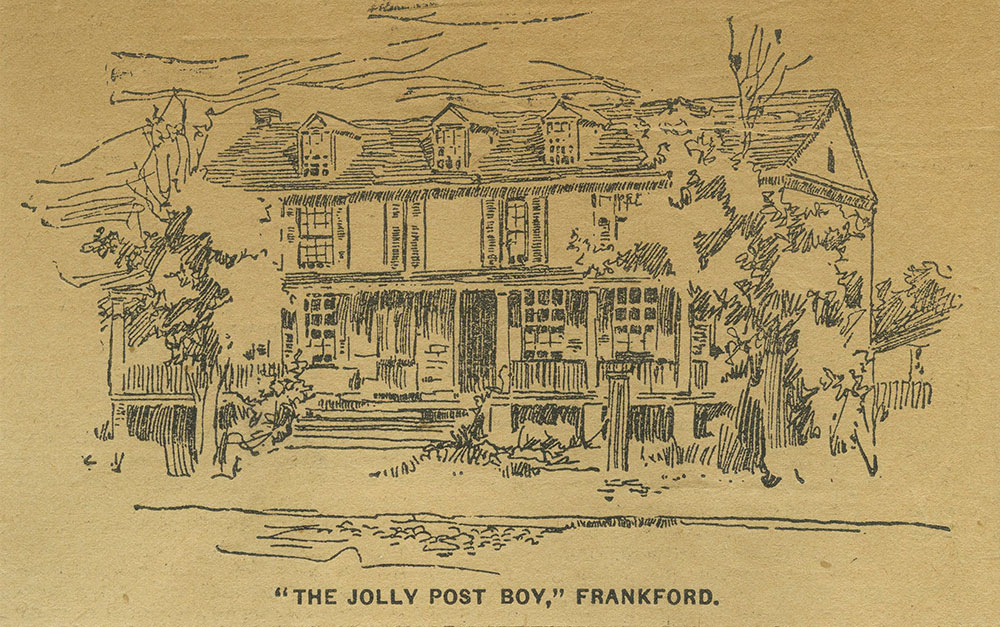 The Jolly Post Boy, Frankford