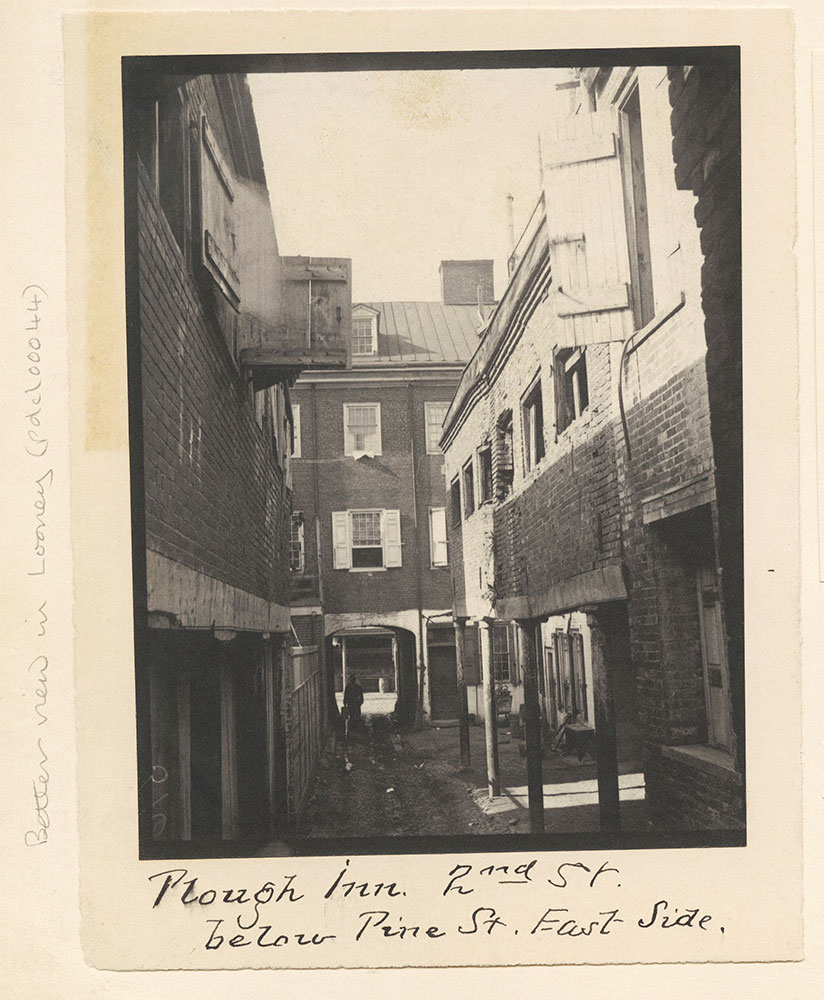 Plough Inn, 2nd Street below Pine St. East Side.