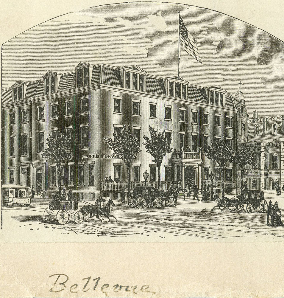 Bellevue Hotel [graphic]